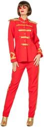 Dameskostuum Sergeant Pepper Rood