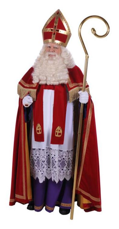 Sinterklaas Kostuum TV Stefan Fluweel