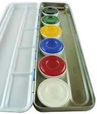 Aquacolor Palet A 6 kleuren KRYOLAN