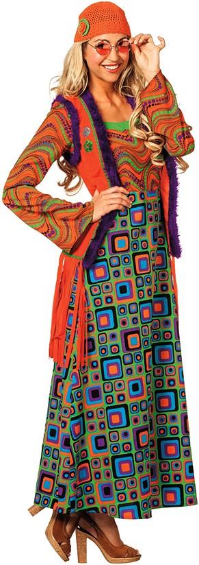 lange hippie jurk