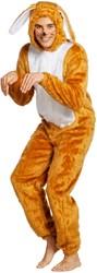 Kostuum Paashaas Bruin