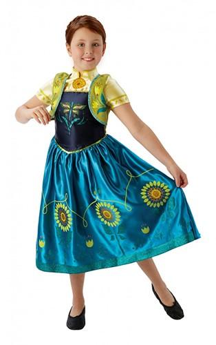 Prinsessenjurk Frozen Fever Anna