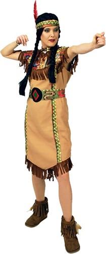 Kostuum Indiaanse Squaw