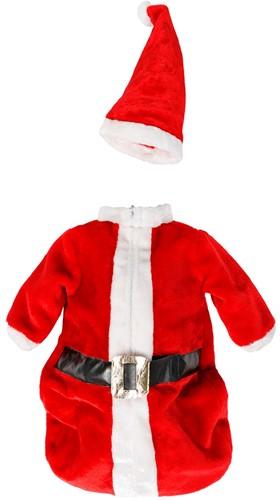 Baby Trappelzak Kerstman Luxe