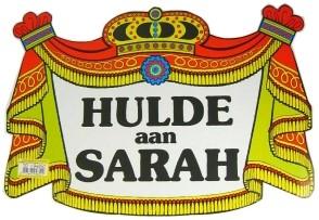 Kroonschild Klassiek Sarah