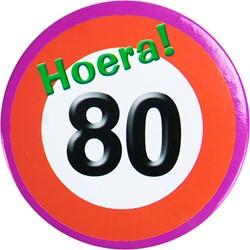 Button Hoera 80!