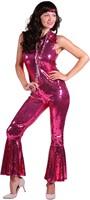 Pailletten Catsuit Luxe Pink voor dames-2