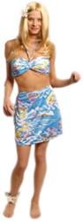 Hawai Rokje + Bikini Blauw