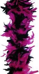 Boa 2mtr. Mixed 2-Colours Zwart/Pink