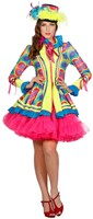 Carnavalsjas Neon Light Me Up voor dames