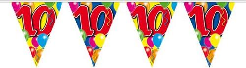 Vlaggenlijn 10 jaar 10mtr