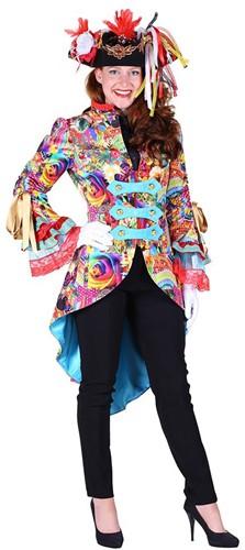 Carnavalsjas Summer Colour voor dames
