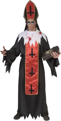 Halloweenkostuum Zombie Kardinaal