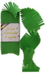 Crepe Guirlande Groen 5 mtr