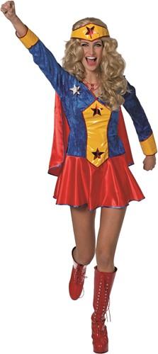 Dameskostuum Wondergirl