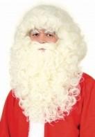 Baardstel Kerstman Superluxe Natur
