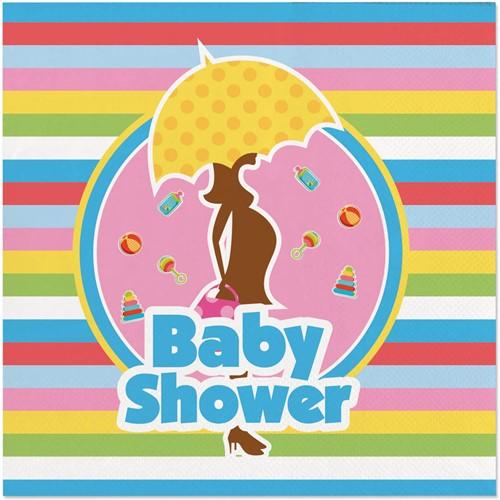 Servetten Babyshower 20st. 25x25cm