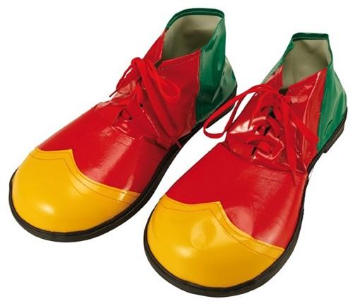 Clownsschoenen Rood-Geel-Groen