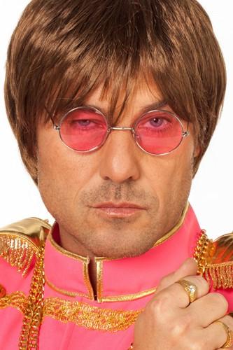 Bril John Lennon Roze