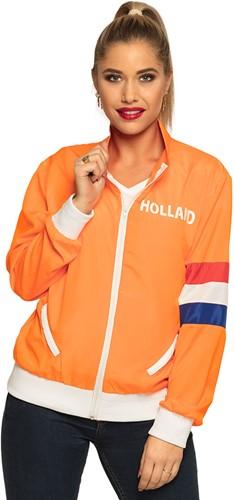 Oranje Trainingsjasje Holland voor dames