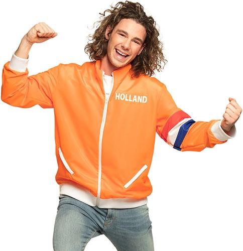 Oranje Trainingsjasje Holland voor heren