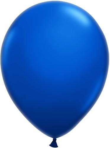 Ballonnen Klein 5inch 100 stuks Koningsblauw