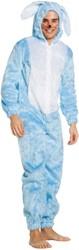 Kostuum Paashaas Lichtblauw