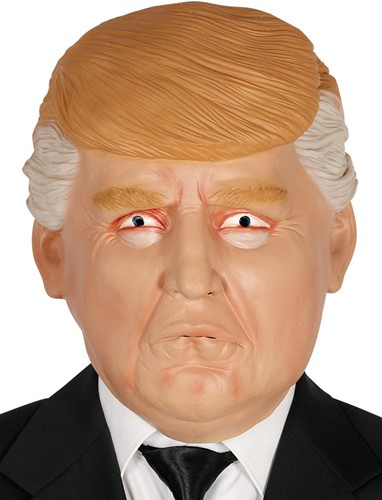 Masker Amerikaanse President Trump