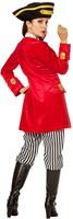 Dameskostuum Piraten Kapitein Luxe  -3