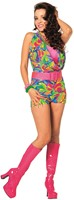 Disco Jumpsuit Fantasy voor dames