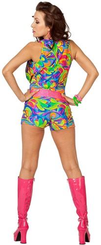 Disco Jumpsuit Fantasy voor dames -3