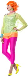 Hotpants Luxe Neon Oranje
