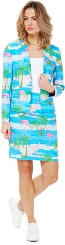 Dameskostuum OppoSuits Flamingirl-2