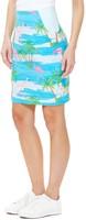 Dameskostuum OppoSuits Flamingirl (kokerrok)