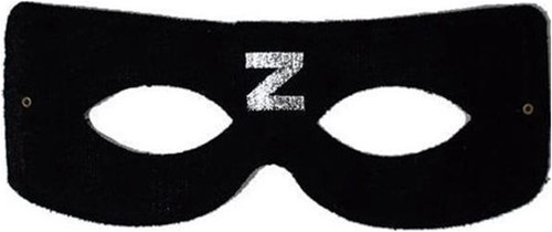 Masker Zwarte Ruiter