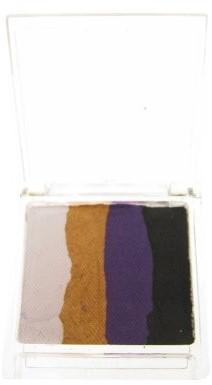 Splitcake Wit/Goud/Violet/Zwart