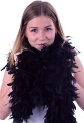 Zwarte Boa Luxe 150 gram (180cm)