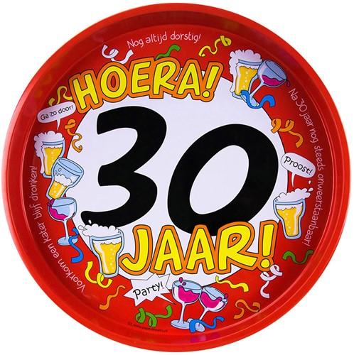 Dienblad Hoera! 30 jaar!