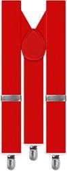 Bretels Luxe Rood