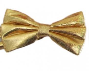 Strikje Satijn Luxe Goud