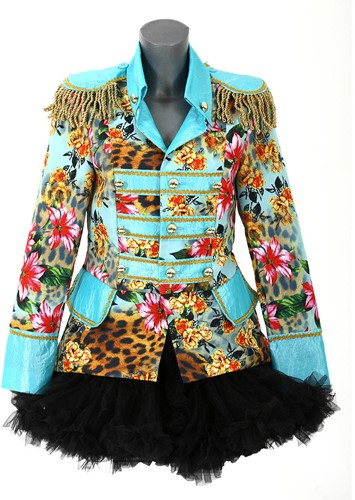 Dames Blazer Panther Flower Luxe