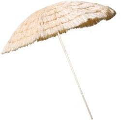 Parasol Hawai 1,8mtr Naturel