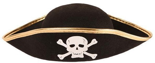 Piratenhoed Vilt voor Kinderen (Junior)
