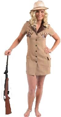 Sexy Safari Lady