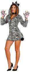 Damesjurkje Zebra