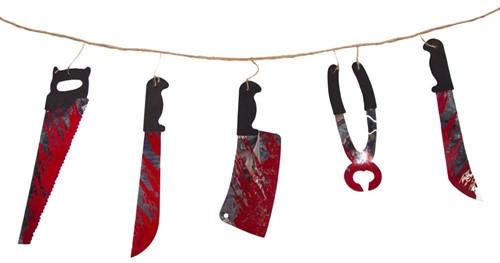 Halloween Slinger Bloody Tools