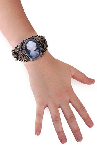 Armband Brocante Oudgoud met Camee