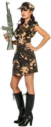Legerjurkje Army Lady Luxe -2