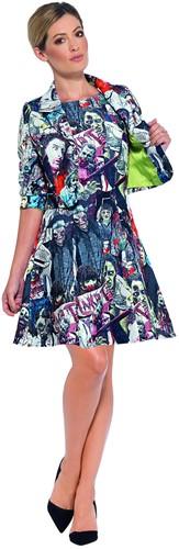 Dameskostuum Zombie (2dlg.)