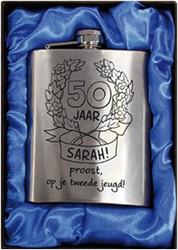 Zakfles rvs Sarah